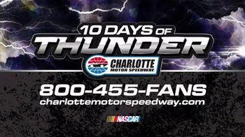 Charlotte Motor Speedway TV Spot, 'NASCAR: 10 Days of Thunder' - Thumbnail 8