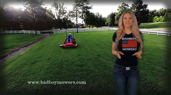 Bad Boy Mowers TV Spot, 'What Does Mallory Love?' - Thumbnail 9