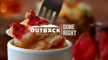 Outback Steakhouse Steak & Lobster TV Spot, 'Back by Popular Demand!' - Thumbnail 8