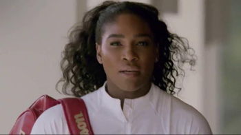 Wilson Tennis TV Spot, \'This Is My Racket\' Featuring Serena Williams