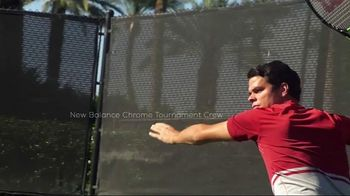 Tennis Warehouse TV Spot, 'Play in New Balance' Featuring Milos Raonic