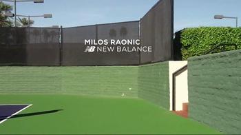 Tennis Warehouse TV Spot, 'Play in New Balance' Featuring Milos Raonic - Thumbnail 1