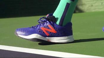 Tennis Warehouse TV Spot, 'Play in New Balance' Featuring Milos Raonic - Thumbnail 5