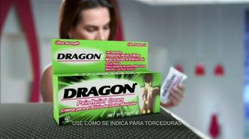 Dragon Pain Relief Cream TV Spot, 'Alivio muscular' [Spanish] - Thumbnail 3