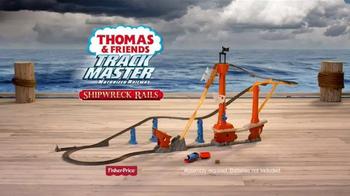 Thomas & Friends Track Master Shipwreck Rails TV Spot, 'Lost Shipwreck' - Thumbnail 8