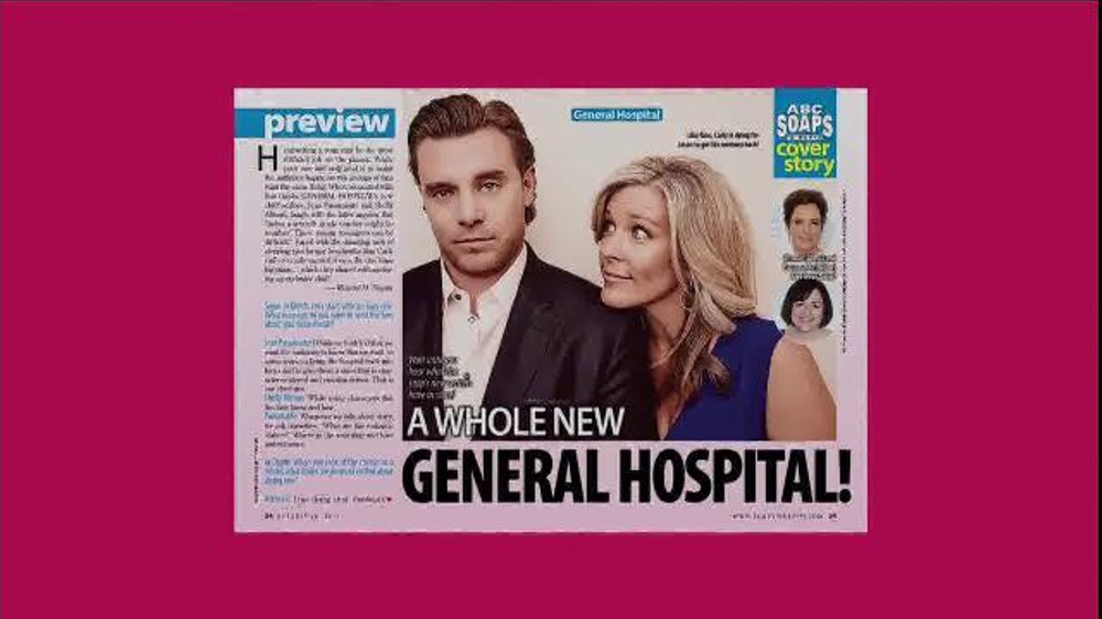 ABC Soaps In Depth TV Commercial, 'General Hospital Better Than Ever!'