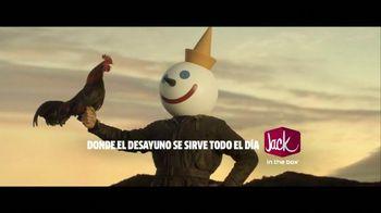 Jack in the Box Loaded Breakfast Sandwich TV Spot, 'Raymundo' [Spanish]