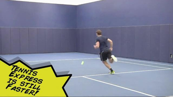 Tennis Express TV Spot, 'Whose Faster?' Featuring Michael Russell - Thumbnail 6