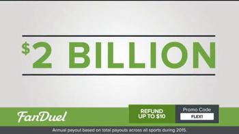 FanDuel One-Week Fantasy Football Leagues TV Spot, 'Millions on the Line' - Thumbnail 1