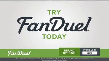 FanDuel One-Week Fantasy Football Leagues TV Spot, 'Millions on the Line' - Thumbnail 3