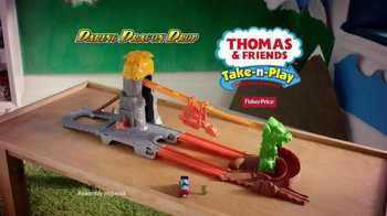 Thomas and Friends Take-n-Play Daring Dragon Drop TV Spot, 'Ultimate Quest' - Thumbnail 9