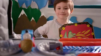 Thomas and Friends Take-n-Play Daring Dragon Drop TV Spot, 'Ultimate Quest' - Thumbnail 8