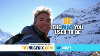 Nugenix TV Spot, \'The Man You Used to Be\'