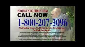 Final Expense Life Insurance TV Spot, 'Plan Ahead' - Thumbnail 8