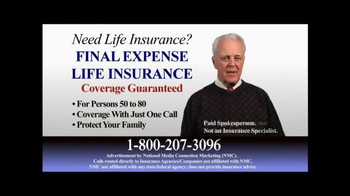 Final Expense Life Insurance TV Spot, 'Plan Ahead' - Thumbnail 1