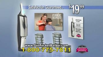 Pocket Barber TV Spot, 'Easy as a Comb' - Thumbnail 10