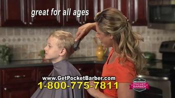 Pocket Barber TV Spot, 'Easy as a Comb' - Thumbnail 8