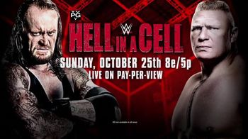 WWE: Hell in a Cell - 123 commercial airings