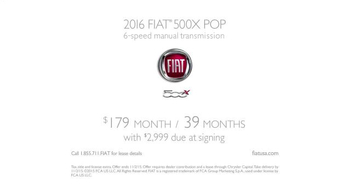 2016 FIAT 500X TV Spot, 'Own Your Freedom' Song by Pharrell Williams - Thumbnail 8