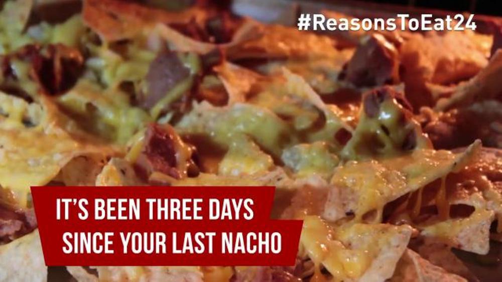 EAT24 TV Commercial, 'More Nachos'