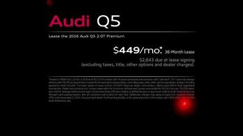 2016 Audi Q5 TV Spot, 'Make a Statement' - Thumbnail 7
