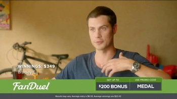 FanDuel One-Week Fantasy Football Leagues TV Spot, \'Win Big\'