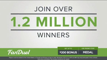 FanDuel One-Week Fantasy Football Leagues TV Spot, 'Win Big' - Thumbnail 2