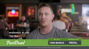 FanDuel One-Week Fantasy Football Leagues TV Spot, 'Win Big' - Thumbnail 4