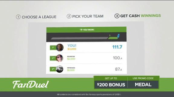 FanDuel One-Week Fantasy Football Leagues TV Spot, 'Win Big' - Thumbnail 5