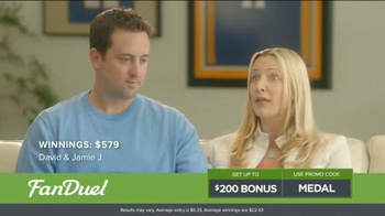 FanDuel One-Week Fantasy Football Leagues TV Spot, 'Win Big' - Thumbnail 8