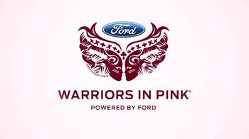 Ford Warriors in Pink TV Spot, 'Madam Secretary' Featuring Téa Leoni - Thumbnail 2