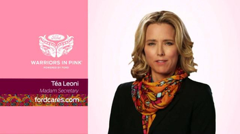 Ford Warriors in Pink TV Spot, 'Madam Secretary' Featuring Téa Leoni