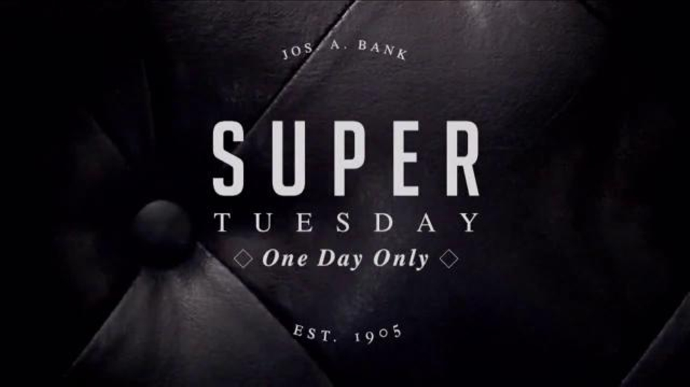 JoS. A. Bank Super Tuesday TV Commercial, 'Huge Suit and Outerwear Selection'