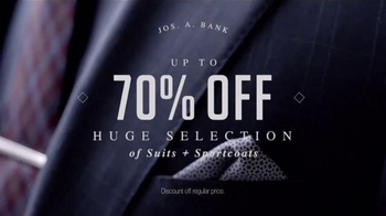 JoS. A. Bank Super Tuesday TV Spot, 'Huge Suit and Outerwear Selection' - Thumbnail 2
