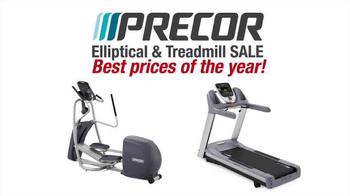 Precor Home Fitness Elliptical & Treadmill Sale TV Spot, 'Best Prices'