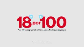 Verizon XXL Plan TV Spot, 'Nuevo y simple plan' [Spanish] - Thumbnail 4