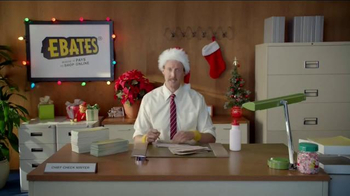 Ebates TV Spot, \'Check Writer: Eggnog\'