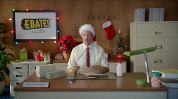 Ebates TV Spot, 'Check Writer: Eggnog' - Thumbnail 3