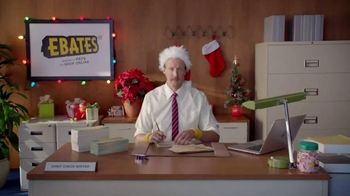 Ebates TV Spot, 'Check Writer: Santa' - Thumbnail 1