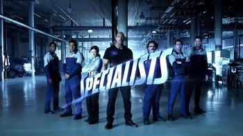 Ford Service TV Spot, 'The Specialists' Featuring Dwayne Johnson - 649 commercial airings