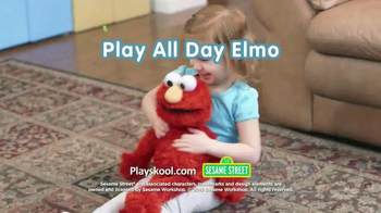 Playskool Sesame Street Play All Day Elmo TV Spot, 'Lily' - Thumbnail 8