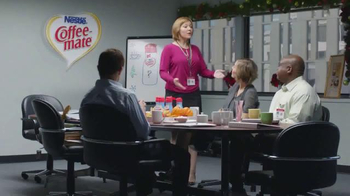 Coffee-Mate TV Spot, 'Gingerbread Joel Makes an Awkward First Impression' - Thumbnail 1
