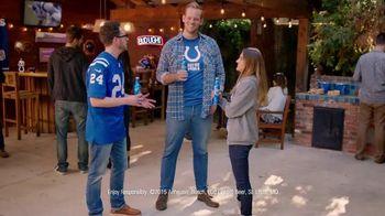 Bud Light TV Spot, 'NFL Coin Toss' - 110 commercial airings