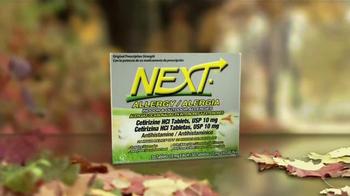 Next TV Spot, 'Alergias estacionales' [Spanish] - Thumbnail 4