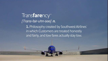 Southwest Airlines TV Spot, 'Transfarency Defined' - 27 commercial airings