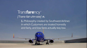 Southwest Airlines TV Spot, 'Transfarency Defined' - Thumbnail 4