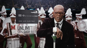 Capital One Quicksilver TV Spot, 'Marching Band' Feat. Samuel L. Jackson - Thumbnail 5