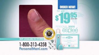 Personal Mani espleé TV Spot, 'Professional Manicure' - Thumbnail 9