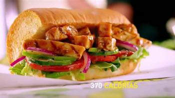 Subway Sweet Onion Chicken Teriyaki TV Spot, 'Menos calorías' [Spanish] - Thumbnail 9