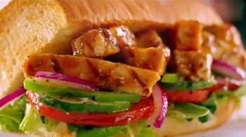 Subway Sweet Onion Chicken Teriyaki TV Spot, 'Menos calorías' [Spanish] - Thumbnail 1